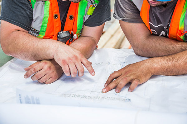 We rely on our contractors, so we make sure our contractors can rely on us.